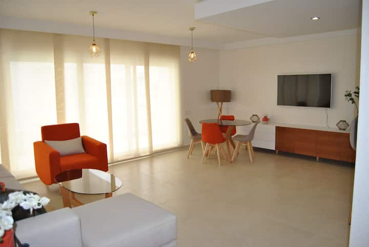 Luxury apartment in tanger's hills