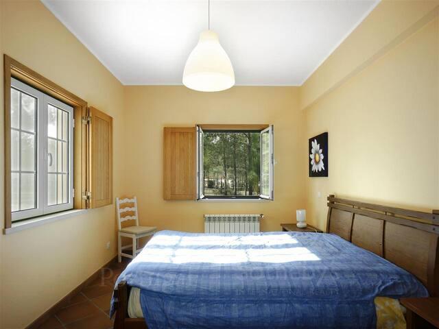 Bedroom 1, double-bed, ground floor