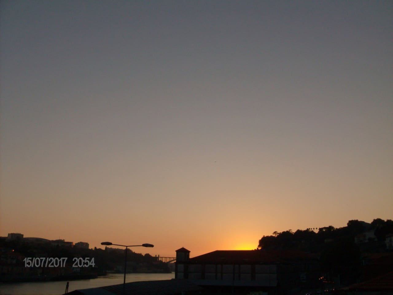 View of Douro River at sunset!