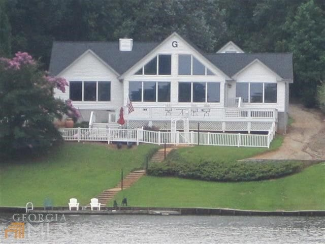 Lakefront house with amazing views - Eatonton - Dom