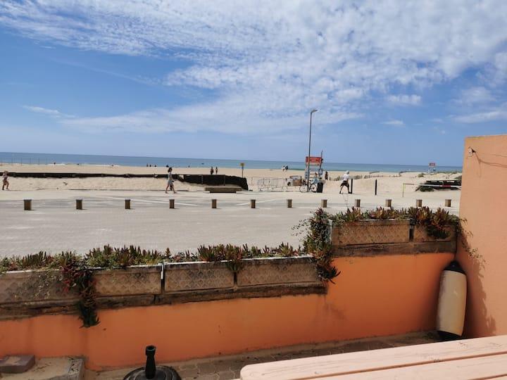 Appartement au pied de la plage, vue océan 🌊⛱️