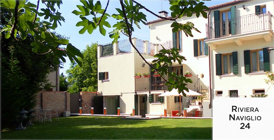 An elegant home situated between Venice and Padova