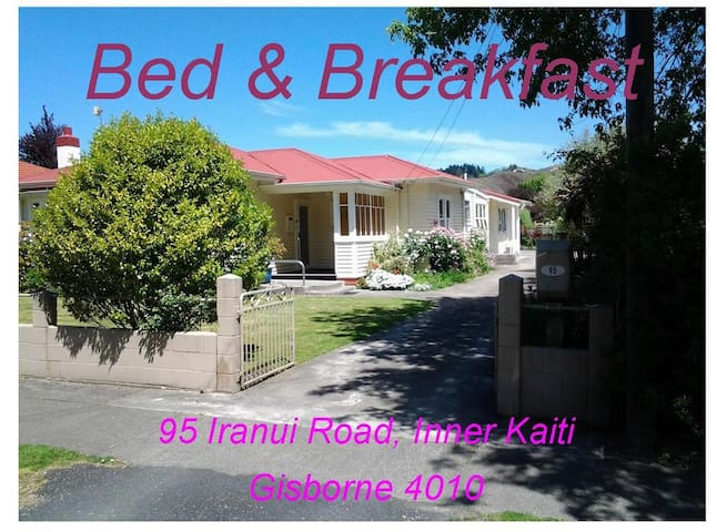 bnb95 Gisborne New Zealand