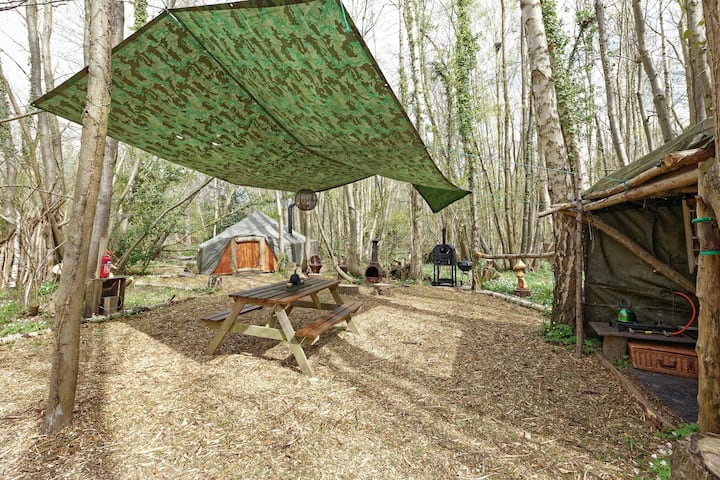 The Hobbit Bell  Hobbity tent house - woodland