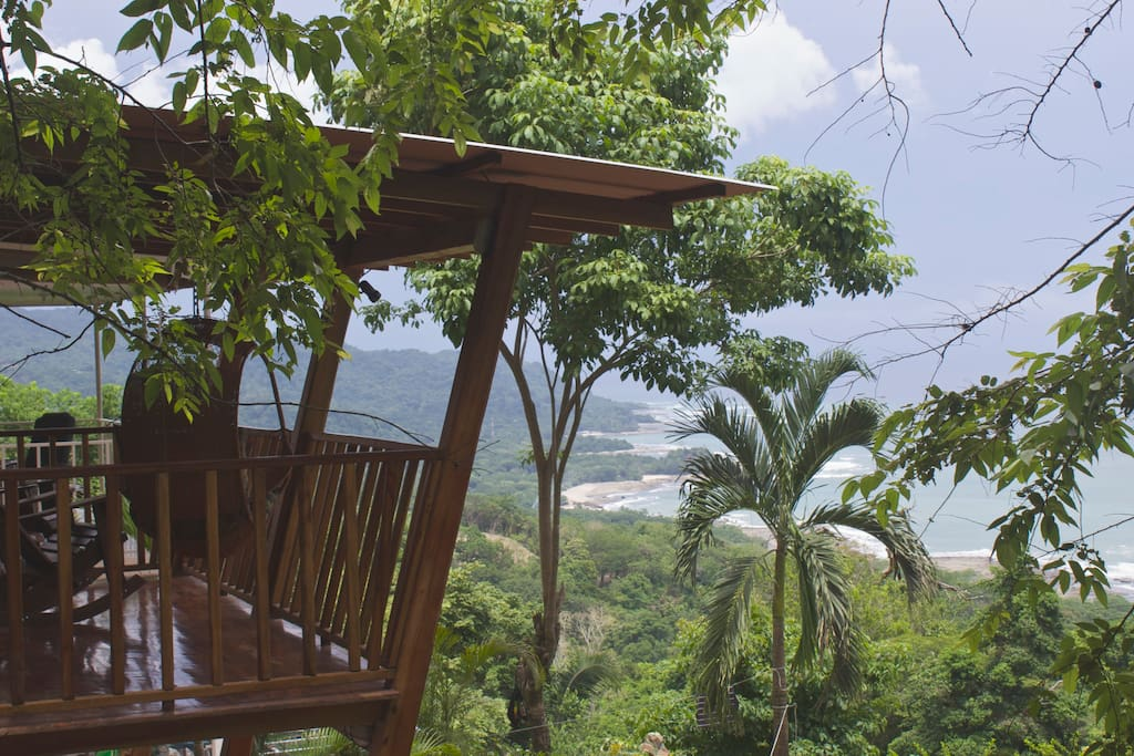 Imagine sitting on that balcony with a good book in hand listening to the surf below and the wildlife surroudning!