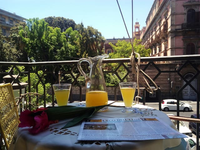 Signorile appartamento in via Etnea - Catania - Apartamento