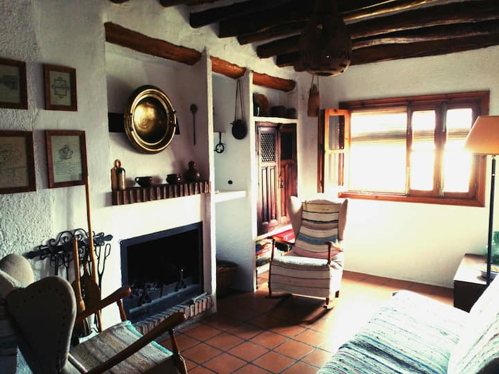Traditional restored house in Alpujarra Mountains