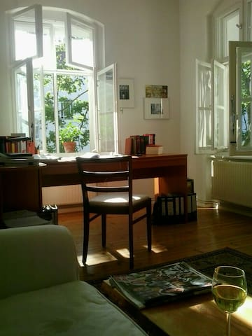 helles,ruhiges,zentrales Apartement - Berlin - Wohnung