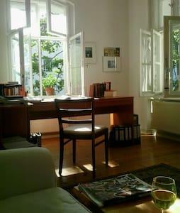 helles,ruhiges,zentrales Apartement - Berlín - Kondominium