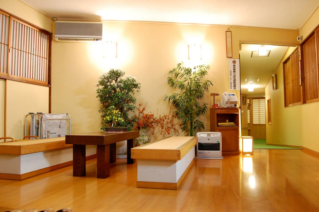 Japanese style inn with the onsen bed and breakfasts for Bed and breakfast tokyo