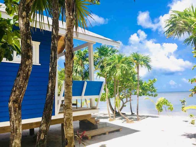 The Paddy Rican Beach Cabins - Blue Cabins #3