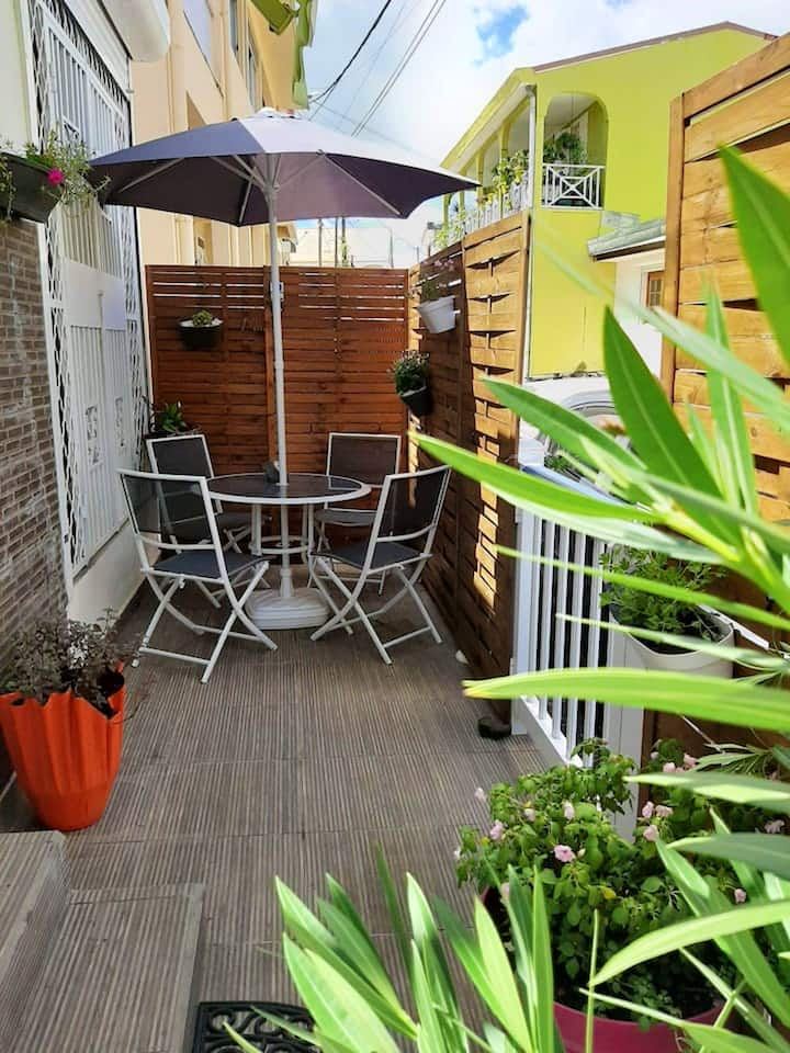 House with one bedroom in Morne-À-l'Eau, with furnished terrace and WiFi