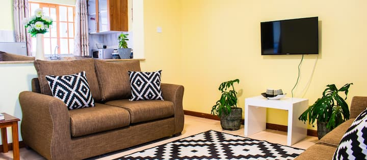 Tastefully furnished one bedroom apartments