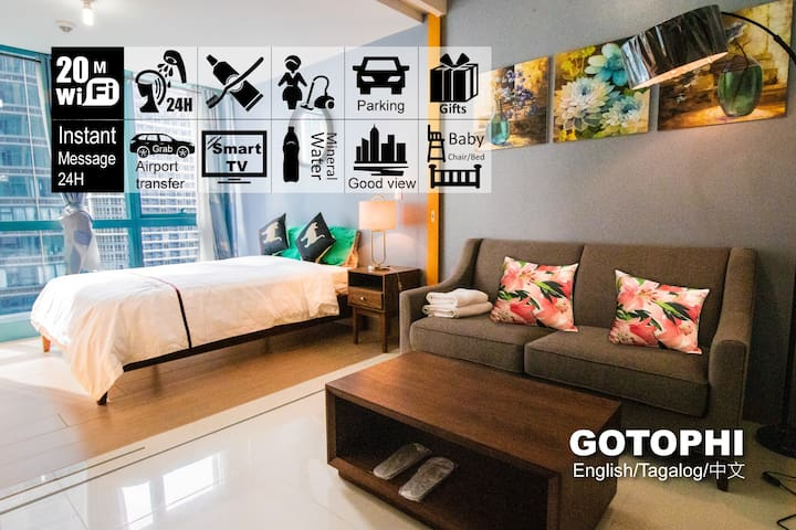 Gotophi Luxurious 5Star hotel One uptown BGC 22E
