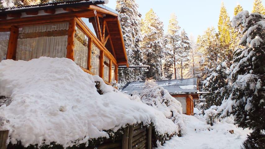 Del Quintral  cabaña en Llao Llao-Bariloche