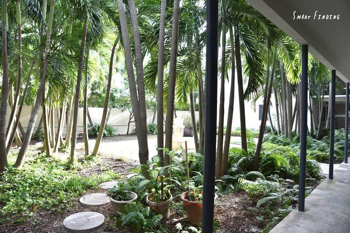 Court yard view 2