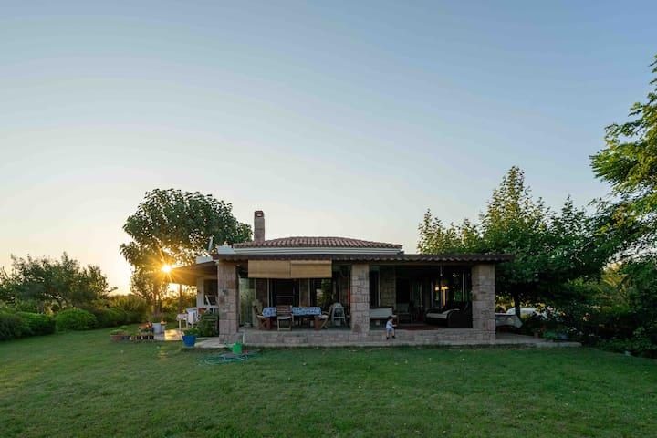 Spectacular Vineyard House in Bozcaada with a view