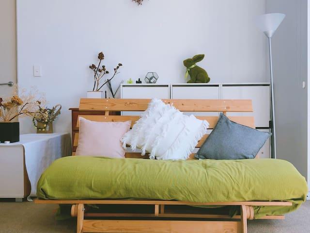 Garnish cozy  friendly  home near city & airport