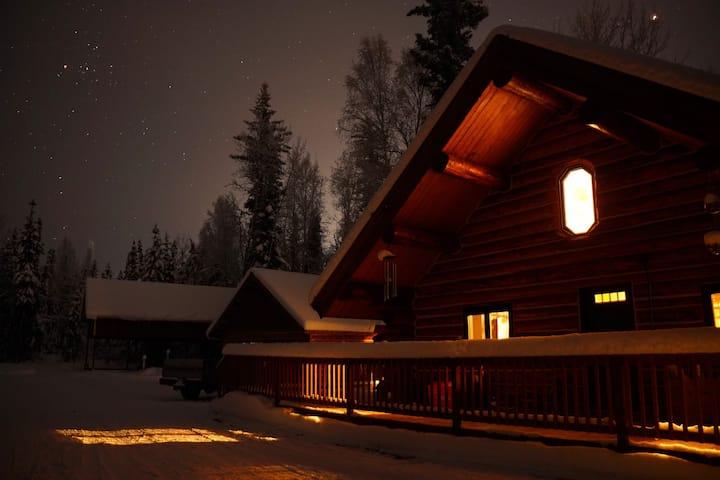 Polar Luxe Log Home (极地豪华小屋)