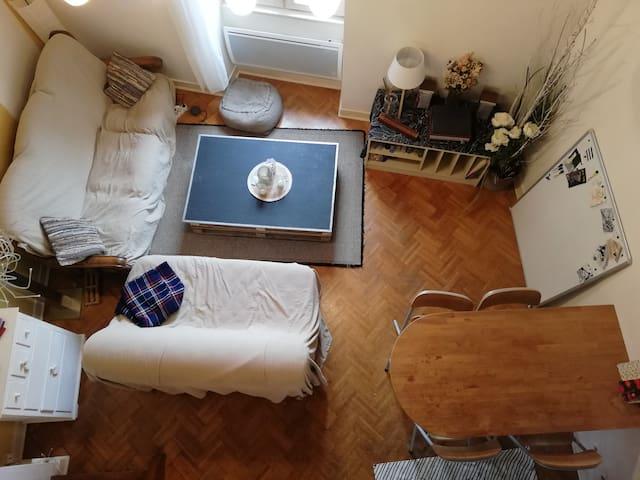 Appartement cozy à 2 minutes du Musée de la BD