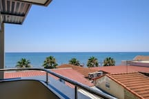 The View from the Bedroom Balcony