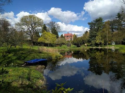 Dorridge huis met uitzicht.