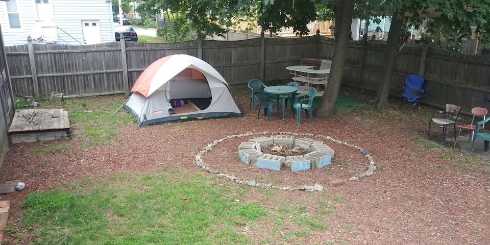 An Urban Camping experience