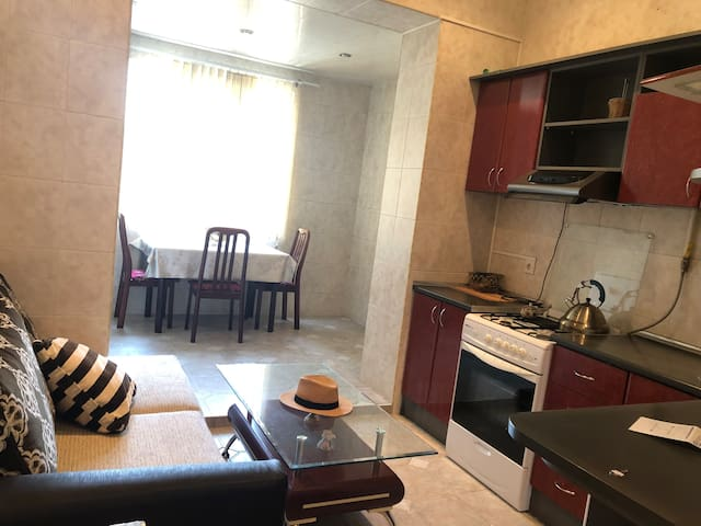 entire flat in the city center