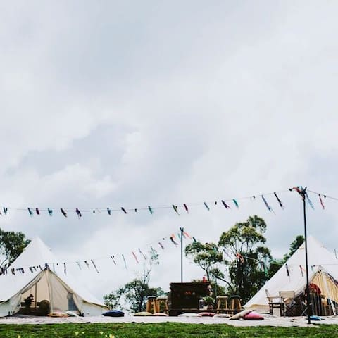 We also can do functions with extra tents ⛺️ Boutique Blinks photography, The Vibe Company, Wandering Souls