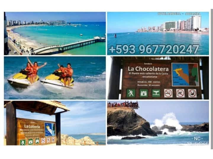 Salinas - Aquamira Resort Ocean View with Balcony