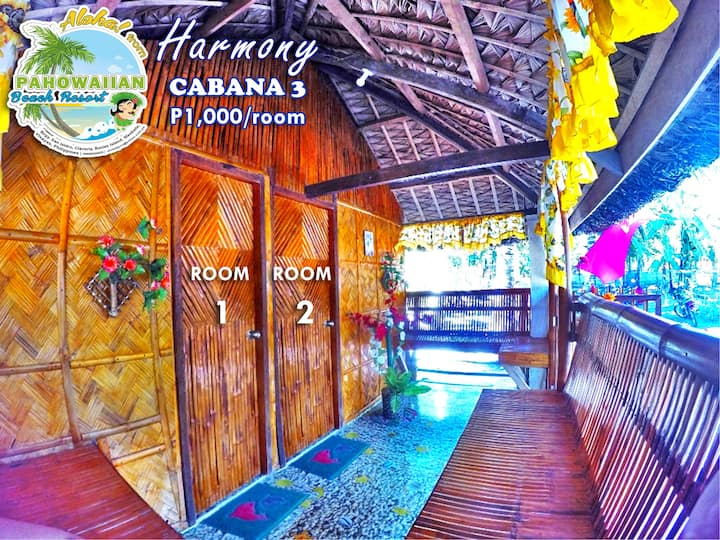 Pahowaiian Beach Resort - Cabana 3: Harmony