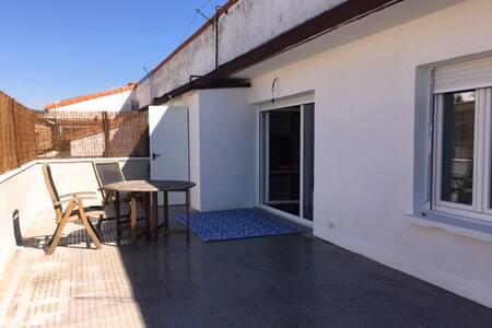 Green apartment with terrace - Burlada - Departamento