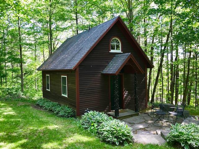 Schoolhouse Cottage in the Adirondacks