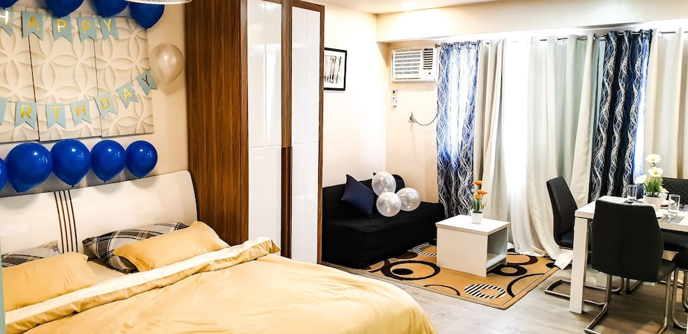 Hotel inspired condo unit in Nuvali