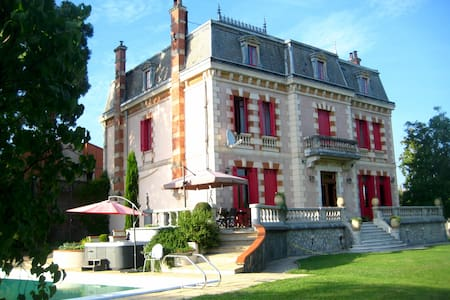 Chateau ideal for Family Holidays/Reunions, Etc. - Montréjeau