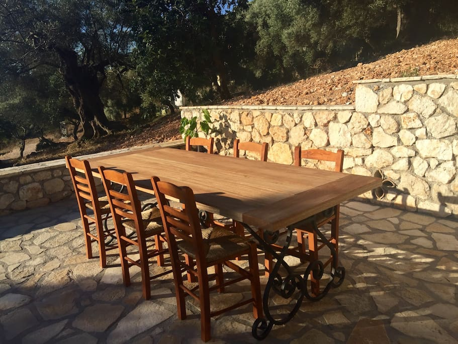 Handgemaakte mahonie houten tafel