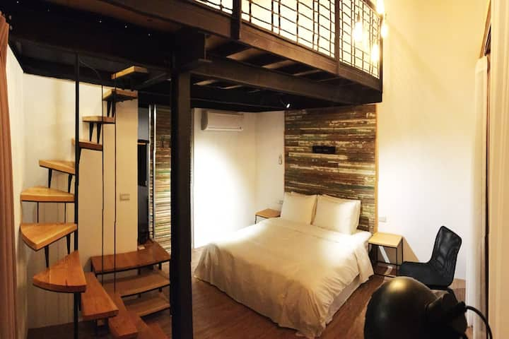 【Atreeium】The Loft Double Twin Room (queen size)