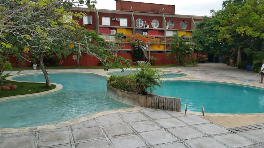 Flat no Condomínio Gaivotas em Alcobaça BA