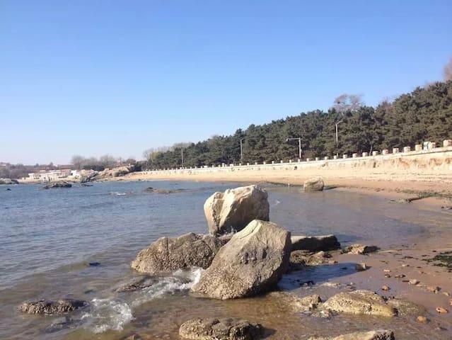 临海的阳光小院,温馨舒适。 - Qinhuangdao - Appartement