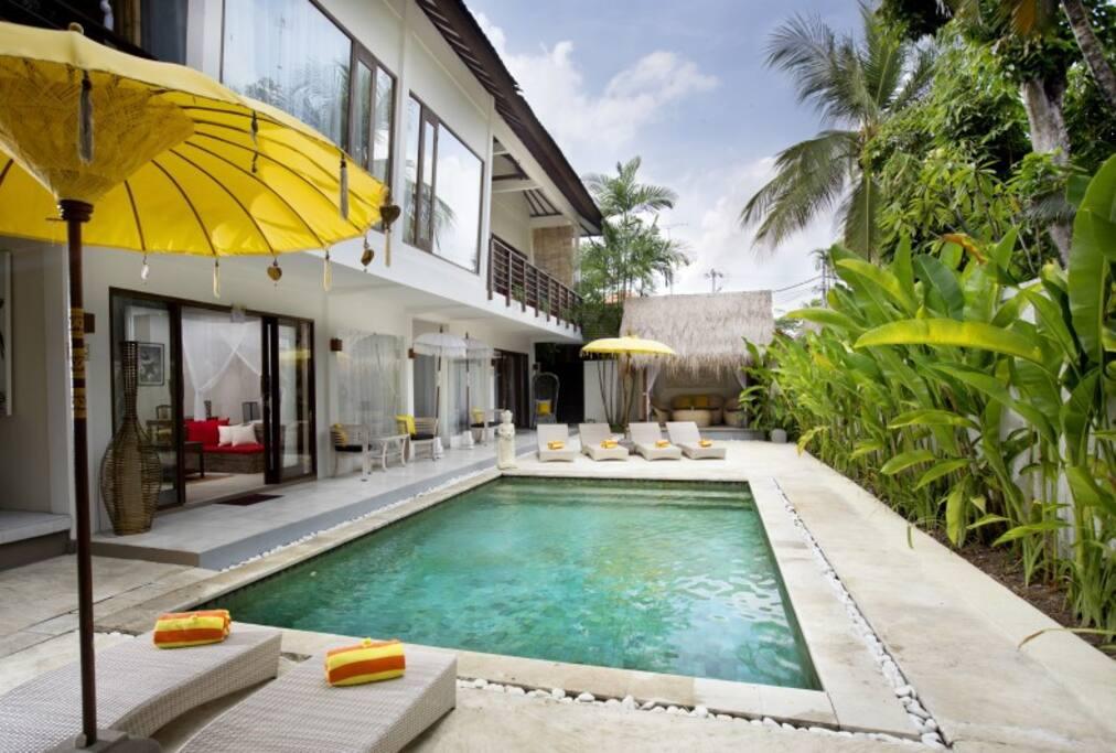 villa 1 - for 5 bedroom reservations