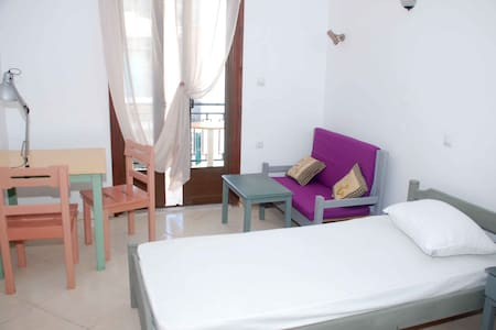 Sunny apartment with balcony in beautiful Kokkari! - Kokkari