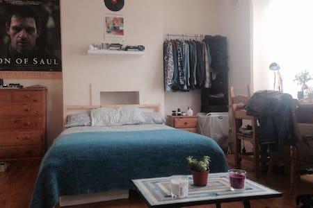 Bright cozy DB in Victorian flat. - Lontoo - Talo