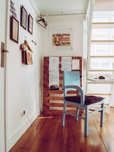 Sunny Single Room close to Downtown - Lisboa - Apartamento