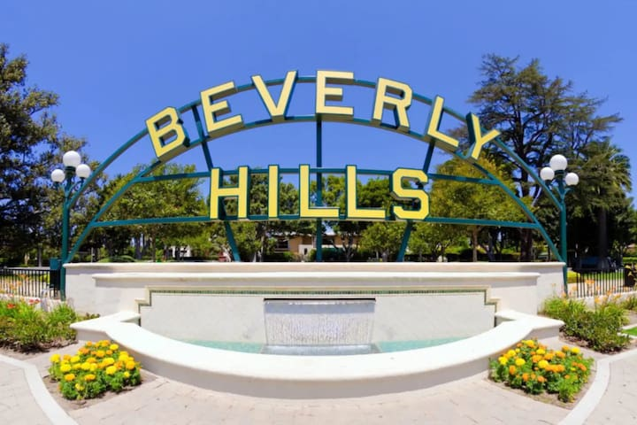 Wonderful & Private 3-Bedroom Beverly Hills House