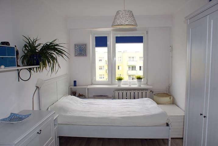 Przytulny i jasny pokój - nice room for two - Bydgoszcz - Apartemen