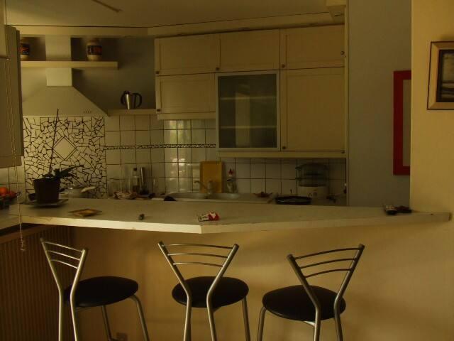Dans F3, chambre calme, en colocation avec l'hôte - Montpellier - Bed & Breakfast