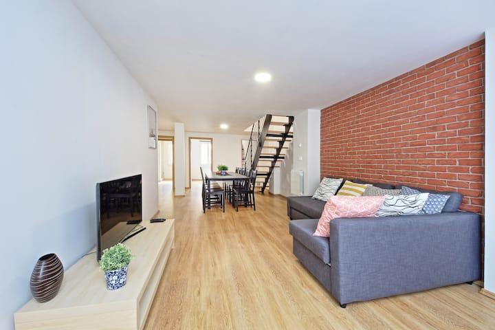 Maisonette apartment, New Town