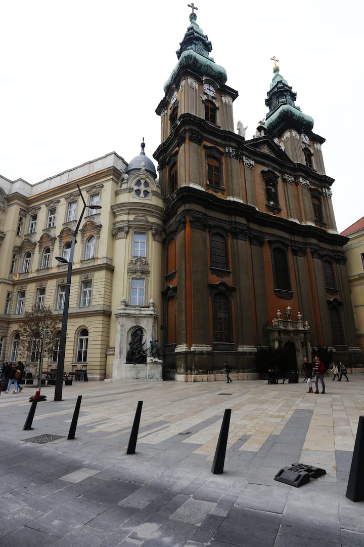 The University's square