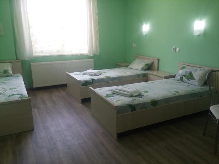 Квартира для 3 человек с раздельными кроватями
