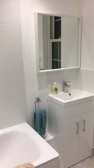 My brand new bathroom!